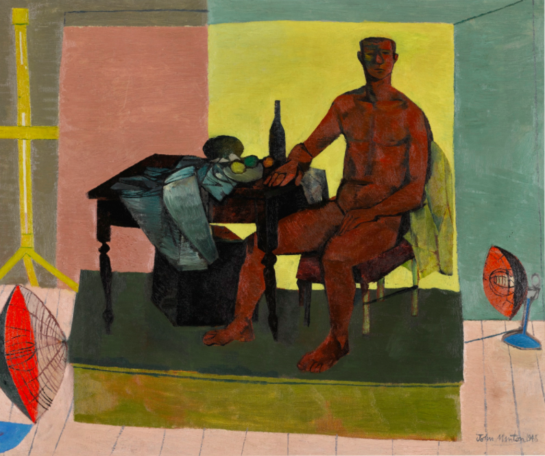 The Life Model, John Minton, $40,000 - $60,000 Estimate