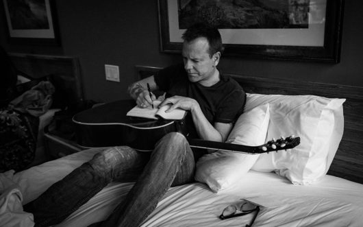 Kiefer Sutherland writing music