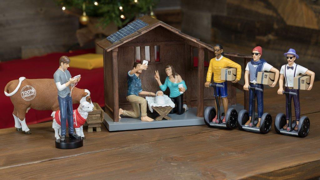 hipster-nativity